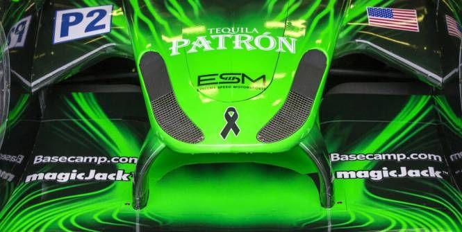 L'avant de la Ligier JS P2 de l'équipe Tequila Patron-ESM. (Pascal Huit/Presse Sport)