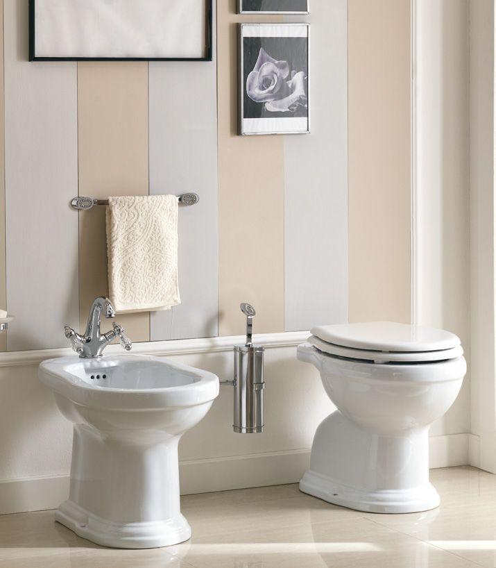 #Eban #sanitary ware and WC-seat horizontal drain Regent | im Angebot auf #bad39.de | #Badmöbel #Bad #Badezimmer #Einrichtung #Ideen #Italien