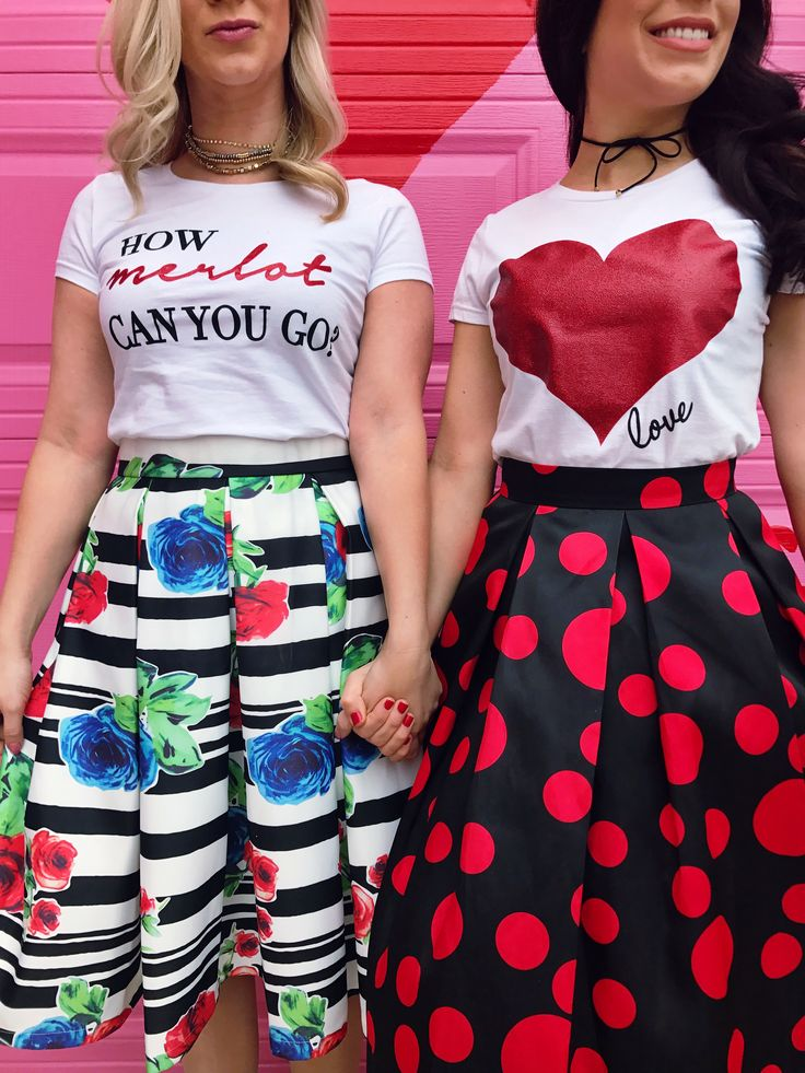 graphic tees, graphic tshirts, graphic shirts, how to style your graphic tee, how to style your graphic shirt, cute tees, woman's graphic tees, outfit of the day, style of the day, what to wear with your sequin skirt, fashion, fashion bloggers, outfit ideas, chic, chic outfit, valentines day outfit, what to wear on valentines day, valentines day look, best friend outfits, matching outfits, how to style your pencil skirt, how to style your pink skirt, sequin skirts