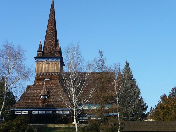 Old Wooden Church - Miskolc, Hungary