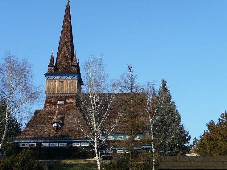 Old Wooden Church - Miskolc, Hungary