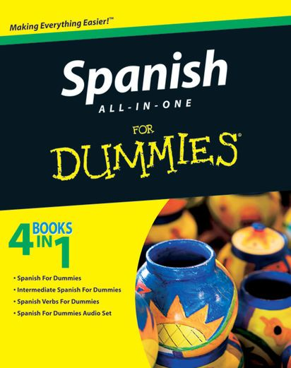 Spanish All-in-One For Dummies - John Wiley & Sons, Inc. |...: Spanish All-in-One For Dummies - John Wiley & Sons, Inc.… #ForeignLanguages