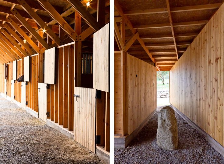 Exceptional Horse Stable / Duval + Vives Arquitectos | Horse, Dream Barn And Dream  Stables