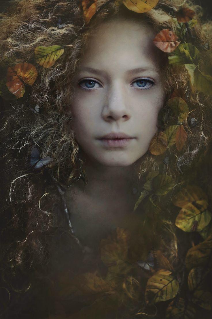 """Autumn's Whisper"" — Photographer: Yasmin Zahra Model: Lucy"