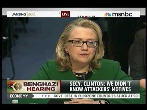 """Hillary Clinton, Benghazi """"What's The Difference?"""" Four Dead Americans"""