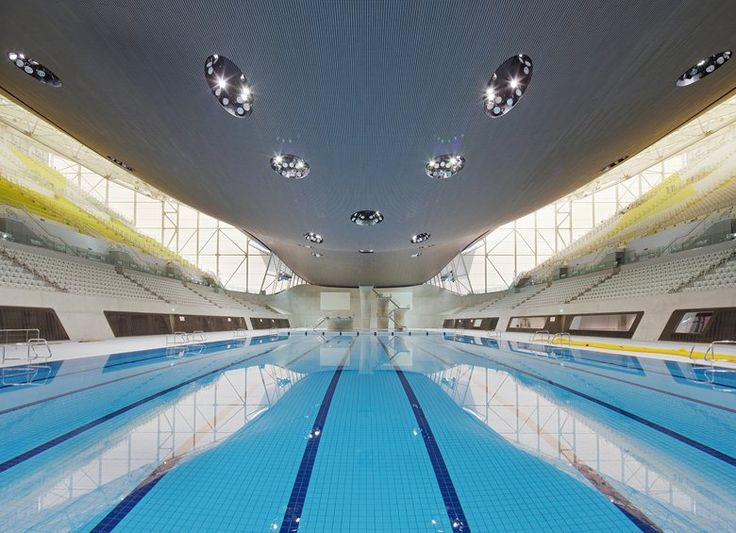 London 2012 Aquatics Center, Londra, 2011 - Zaha Hadid Architects
