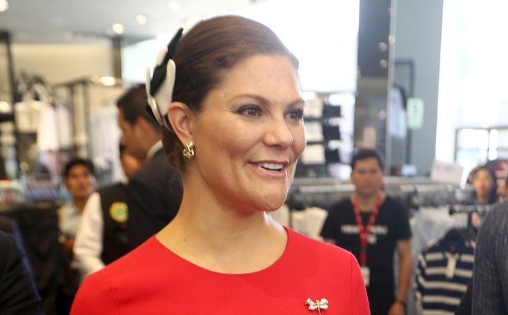 De 38-jarige prinses van Zweden, Victoria Ingrid Alice Désirée, had afgelopen maandag haar eerste dag in Peru. Royal Look: Prinses Victoria nu op Beau Monde