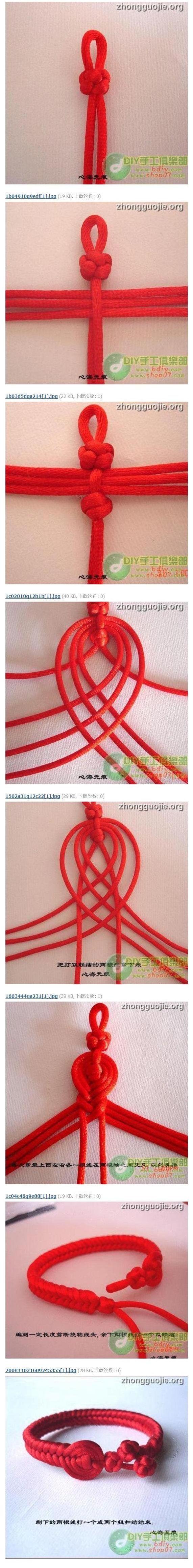 DIY Lucky Knot Bracelet