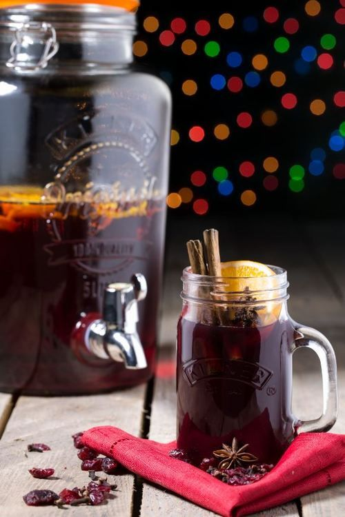 KILNER JARS Top 5 Kilner Drinks Dispenser Autumn Tipples We have tasted some unusual, delicious and down right weird winter drinks to finally come up with our top 5 favourite beverages to serve in our... Some great ideas for Christmas.