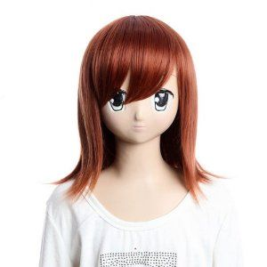 Full lace wig Magic Banned Book Catalogue Sakamoto Mikoto Wigs Cosplay Wigs Party Wigs Costume Wigs by GOOACTION. $23.28. Length :about 16.54 inch. Hair Style: Cosplay Wigs. Material : High temperature wire. Package:1 PCS. Color : AS PICTURE ,Color Shown: (Color may vary by monitor.). Brand: GOOACTION Recommended features: 1. Super natural wig , suitable for almost every lady aged from teenagers to adults. 2. With the high technology, Miss Beauty wig series are quite soft and...