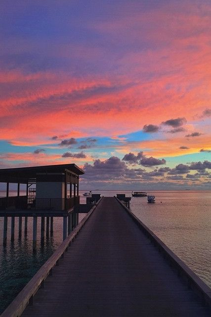 Off the pier of @hadahaa. Photo courtesy of J Ritch.