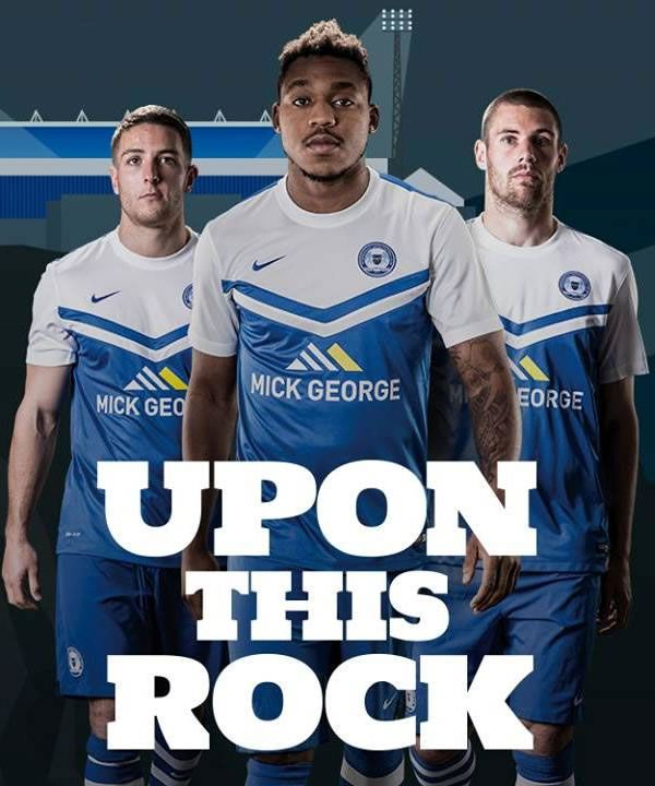 Peterborough United 2014-15 Nike Home Kit