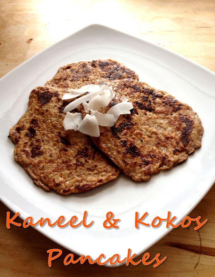 Kaneel & Kokos Pancakes (Suiker, Lactose- en Glutenvrij) - Blij Zonder Suiker