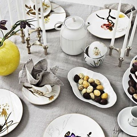 Easter table setting with STOFF® from @magasindunord