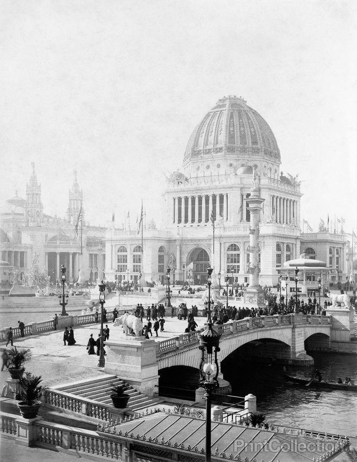 Exposition Grounds Worldu0027s Columbian Exposition Chicago 493