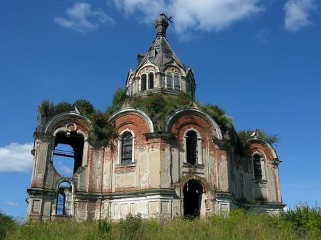 chiese abbandonate -  Gur'evo-Voskresenskoye, Russia Cerca con Google