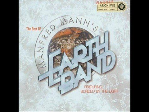 Manfred Mann's Earth Band- Blinded by the Light HIGH QUALITY LYRICS