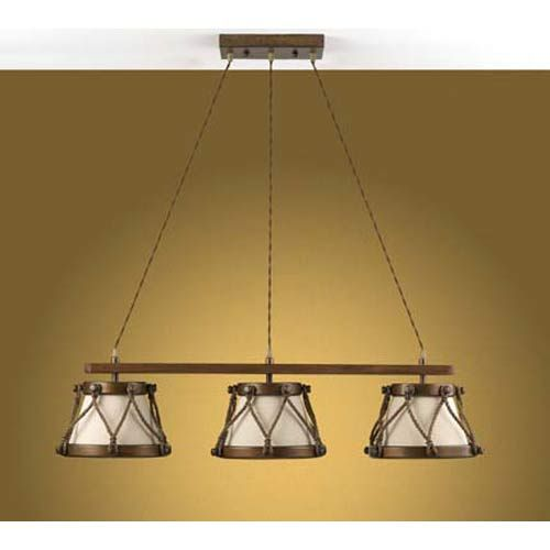 three light chandelier from tambor collection - Nautical Chandelier