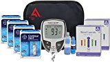 #healthyliving Active1st Bayer Contour NEXT Diabetes EZ Meter Testing Kit 200 Test Strips 200 Lancets Lancing Device Control Solution Reference Guide Log Book Carry Case