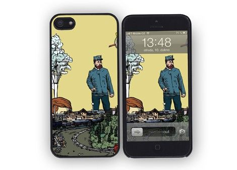 iPhone 4/4s/5 case Dispatcher / designed by Jakub Tytykalo / 31,- € / www.vajco.cz