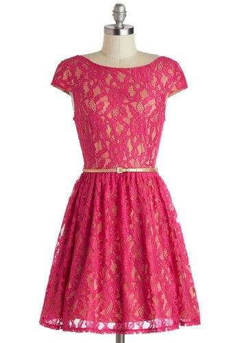 @Zofia Photo Really cute, good color. Surprise to the Occasion Dress, #ModCloth