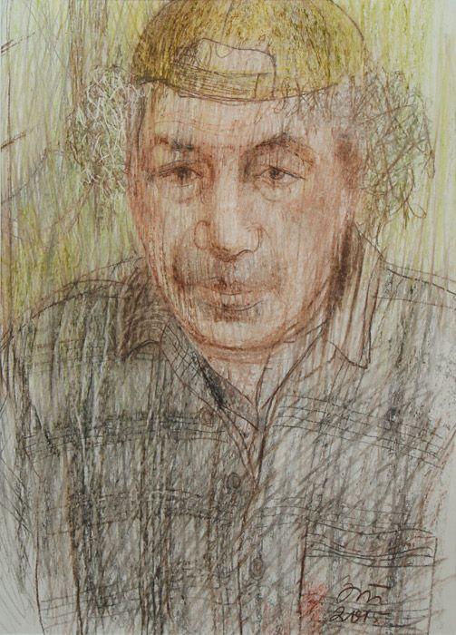 Татьяна Зусес. Портрет Арона Зинштейна