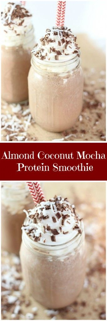 This smoothie is low in sugar, high in protein, and tastes like a candy bar in thick and creamy smoothie form! With the best flavors! #SilkSipToSpoon #ad