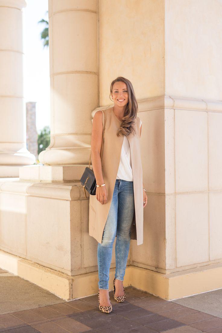 vest ZARA, bag YSL, jeans H&M, shoes MODA IN PELLE, blouse BCBGMAXAZRIA   Hanna Väyrynen