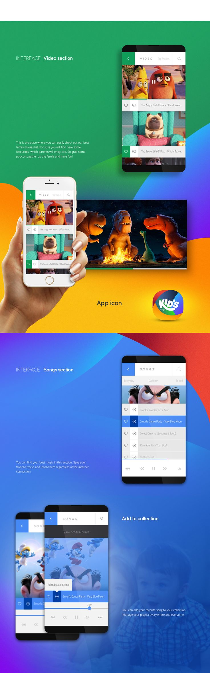 Google kids - it's the best app for childs. Everything what they are looking for in one place.