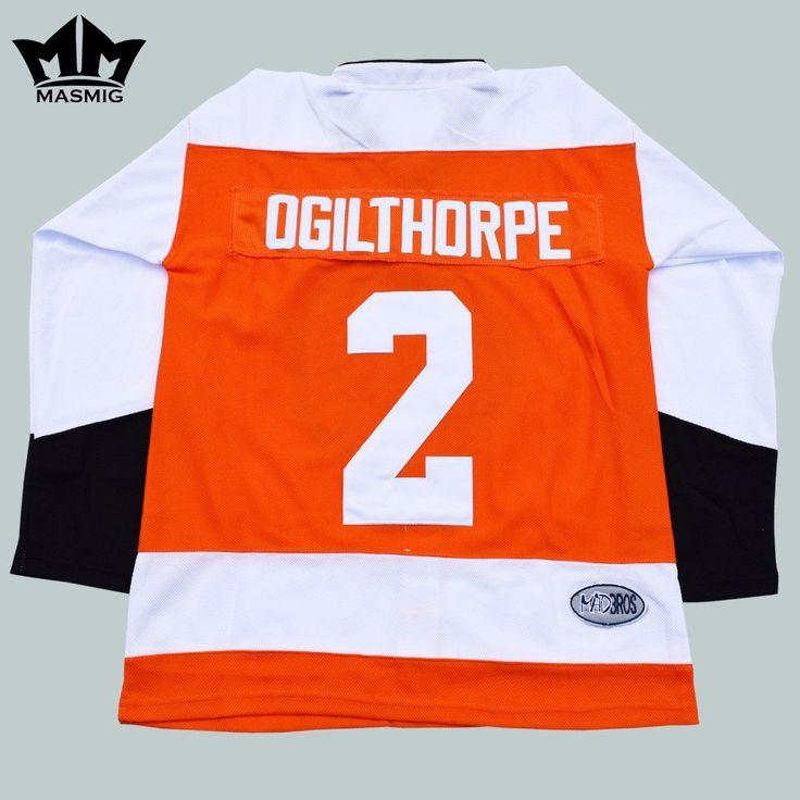 "Syracuse Bulldogs Ogilthorpe Replica Jersey From ""Slap Shot"""