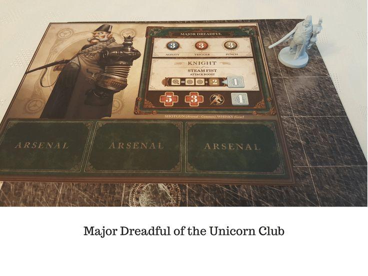 Major Dreadful of the Unicorn Club