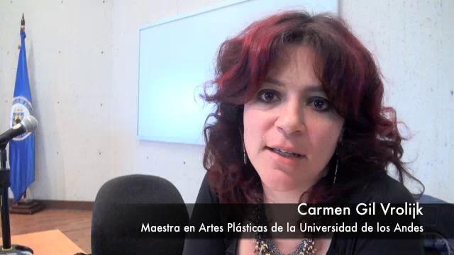 Bienal Internacional Tadeísta de Diseño Industrial: Conferencia de Carmen Gil. by boletin.UJTL. La Maestra Carmen Gil, de la Universidad de los Andes, compartió con los asistentes a la Bienal Internacional Tadeísta de Diseño Industrial, parte de su trabajo y experiencia en el campo de las artes plásticas.