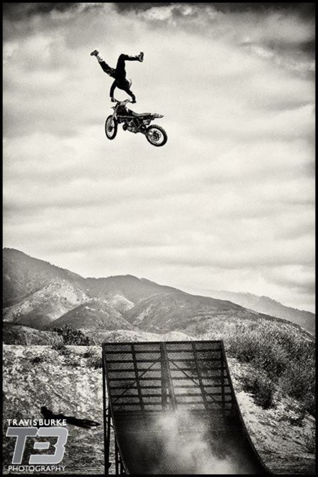 Travis Pastrana is so cool! Hope to be like him some day!