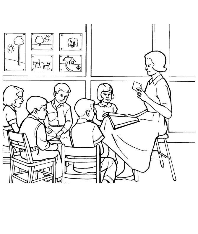 teaching educational coloring pages-#15
