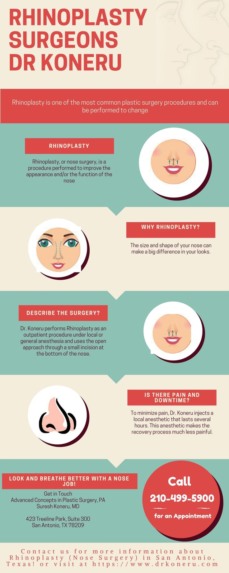 Want to do Rhinoplasty Surgery? Dr Koneru offers best nose reshaping surgery in which the surgeon reshapes the nose that suits your face.