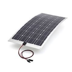 100 Watt Polycrystalline Flexible Solar Panel Super Efficient, Flexible & Lightweight !   Perfect for Off Grid, Portable or Off Road Power ! Easy to lift &a