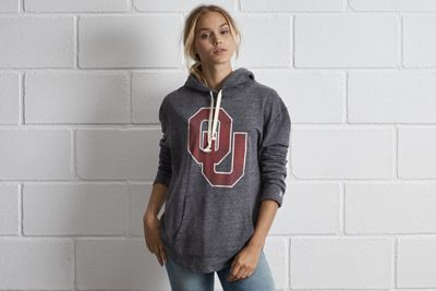 Tailgate Oklahoma Oversize Hoodie by  American Eagle Outfitters | The Sooners have scored more points than any other college football team. Ever. That's over 33,000. Shop the Tailgate Oklahoma Oversize Hoodie and check out more at AE.com.