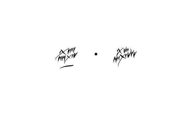 calligraphie paris : calligraphie tatouage date de naissance