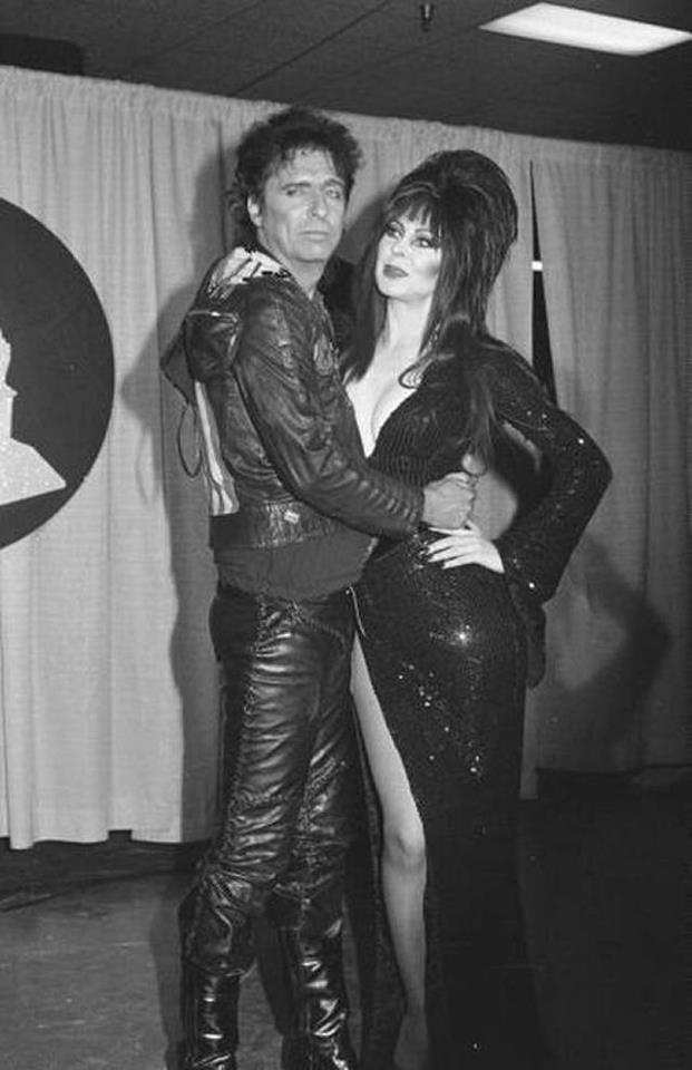 Alice Cooper and Elvira