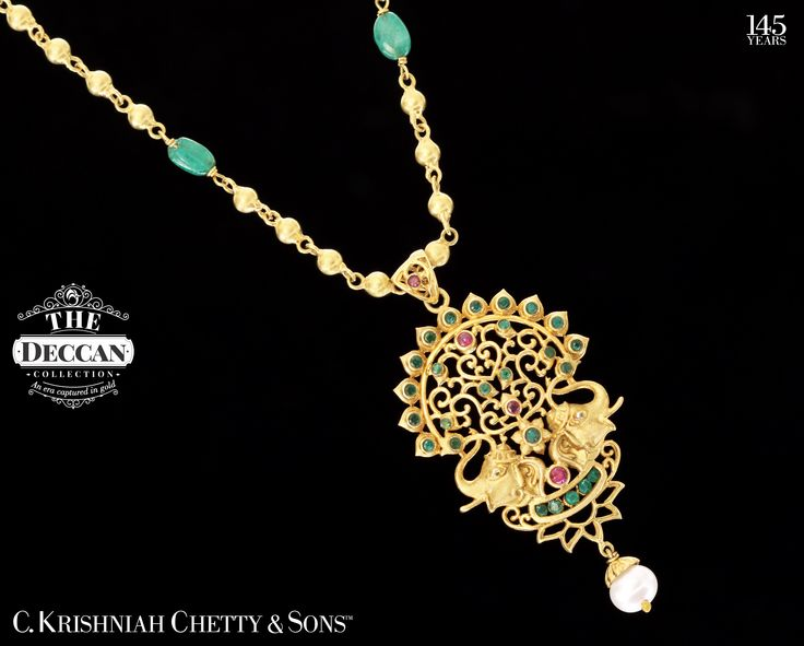 Inspired by the motif of strength... the golden elephants...