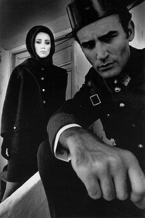 Fashion photography by Jeanloup Sieff for Harper's Bazaar, Madrid, 1966.