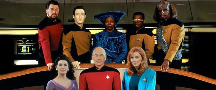 Ten For Ward -- 30 Years of TNG Novels