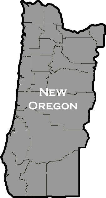 Proposal for 51st State - New Oregon (East Oregon)