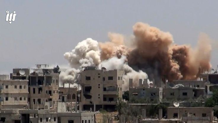 The Latest on the conflict in Syria (all times local):  9:30 p.m.  Russia has threatened aircraft from the U.S.-led coalition in Syrian-controlled airspace and suspended a hotline intended to avoid collisions in retaliation for the U.S. military shooting down a Syrian warplane.  The U.S. said... - #Downs, #Latest, #Russia, #Syrian, #Threatens, #TopStories, #Warp