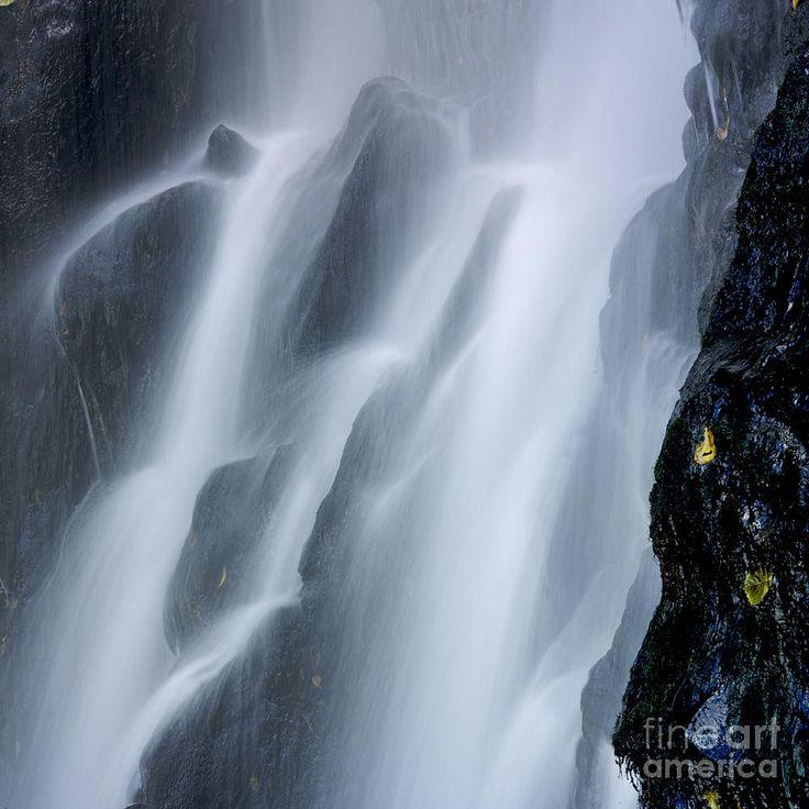 Waterfall of Vaucoux. Puy de Dome. Auvergne. France; Photograph  by Bernard Jaubert