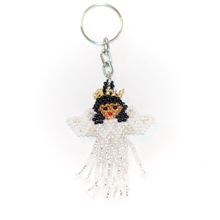 Mörkhårig ängel, nyckelring