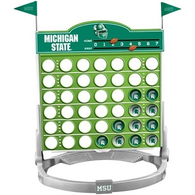 Michigan State Spartans Connect Four. Cam would LOVE this!