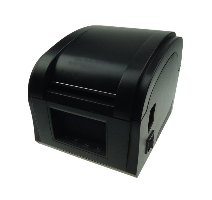 High Speed USB port label printer barcode printer Thermal Sticker Printer Clothing label machine  #Affiliate