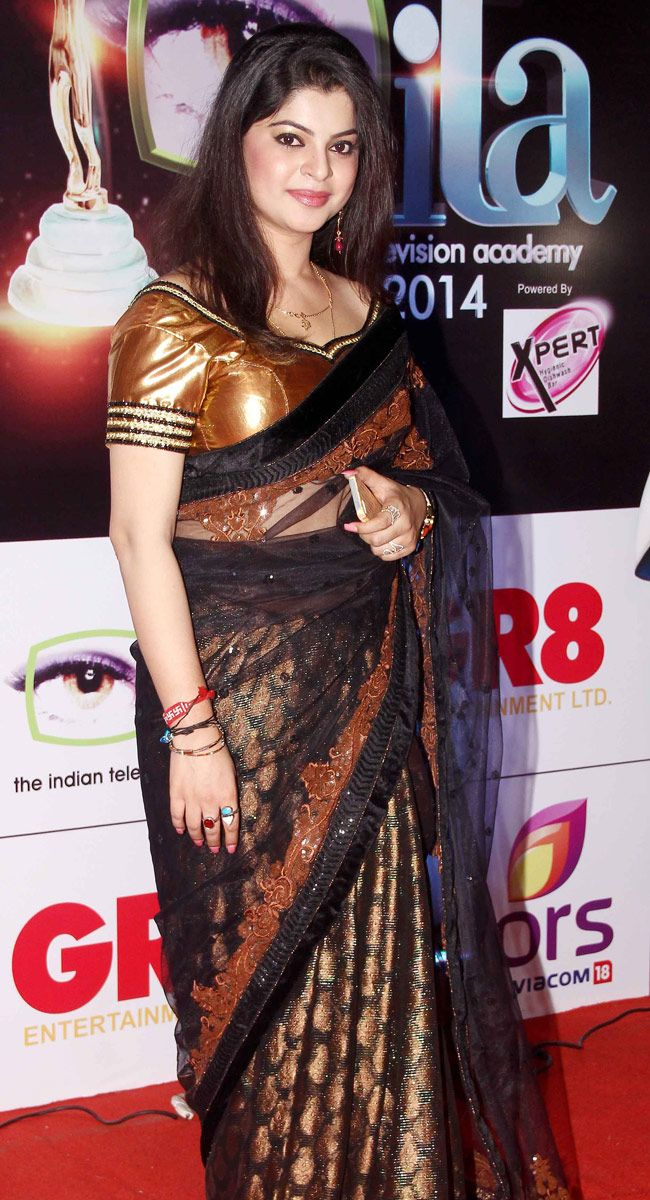 Sneha Wagh at the 14th Indian Television Academy Awards 2014.