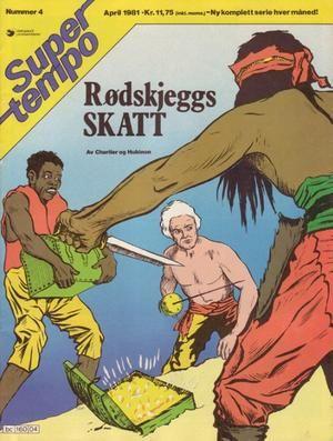"""""""Rødskjeggs skatt - Super Tempo 4-1981"""" av Charlier"""